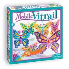 Mobile Vitrail Butterflies