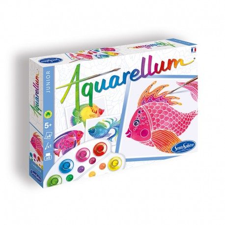 Aquarellum Junior Poissons