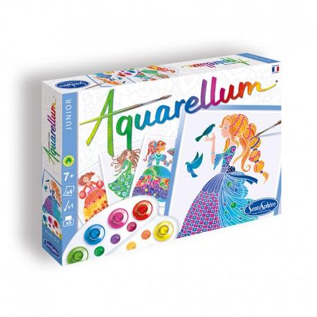 Aquarellum Junior Princesses Fleurs