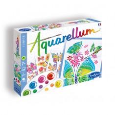 Aquarellum Junior Butterflies & Flowers