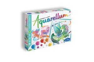 Aquarellum Licornes & Pégases