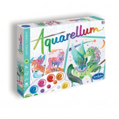 Aquarellum Unicorns & Pegasus