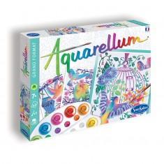 Aquarellum Flying Birds