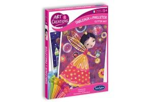 Art & Créations Tableaux à Pailleter - Princesses